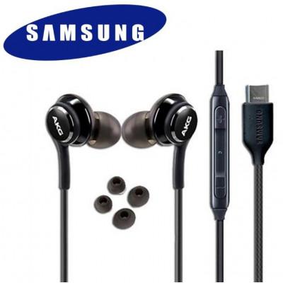 Auricolari Samsung EO-IC100BBE AKG Tipo-C Neri in Bulk