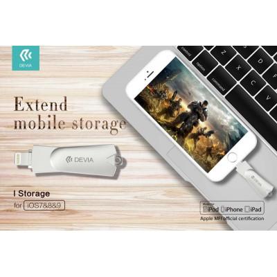 iStorage Chiavetta Memoria iPhone iPad Apple Ufficiale MFI