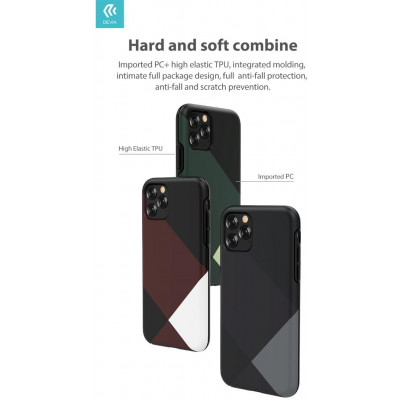 Cover Simple Style per iPhone 11 Pro Rossa