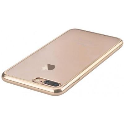 Cover Glimmer con Retro Flessibile per iPhone 7 & 8 C.Gold