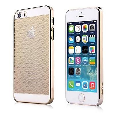 Cover in Policarbonato per iPhone SE - 5S - 5 Colore Oro