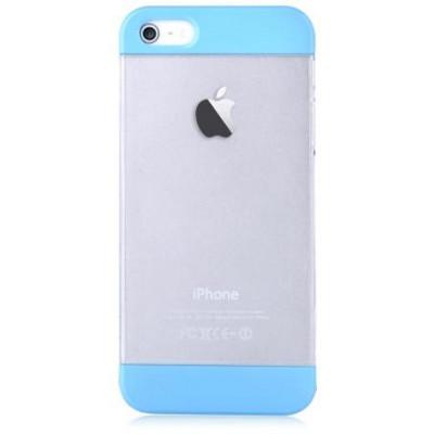 Custodia Protettiva per iPhone 5 5C 5S SE Colore Blu Fresh