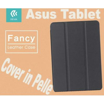 Custodia in pelle per Tablet Asus Zenpad 10.1 Z300C Nera