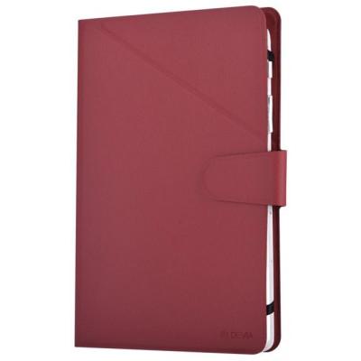 Custodia a Libro Universale per Tablet 8 Pollici Rossa