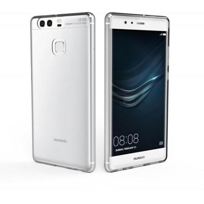 Cover TPU Slim 0.5mm Morbida Per Huawei P9 Trasparente