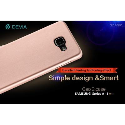 Cover C.E.O. Microfibra Per Samsung J5 Nera