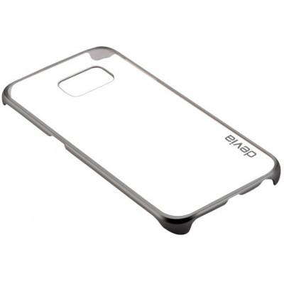 Cover Glimmer per Samsung S6 Edge+ Grigio Scuro