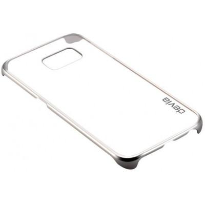 Cover Glimmer per Samsung S6 Edge+ Argento