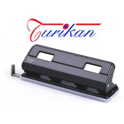 Perforatore a 4 fori TURIKAN DP-2040 guida regolabile