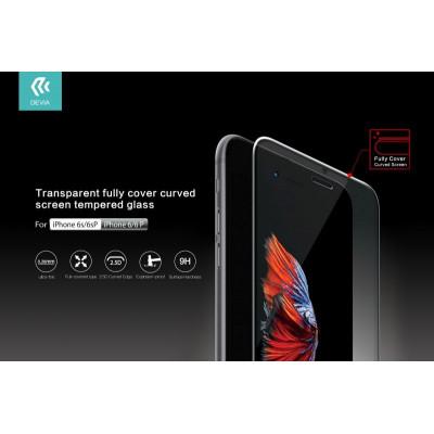 Pellicola in Vetro Temperato Full con curve iPhone 6/6S Plus