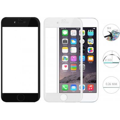 Pellicola Full Screen Vetro iPhone 6/6s Plus con Curve Nera