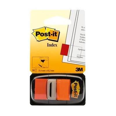Post-it® Index Medium Arancio - dispenser da 50 segnapagina