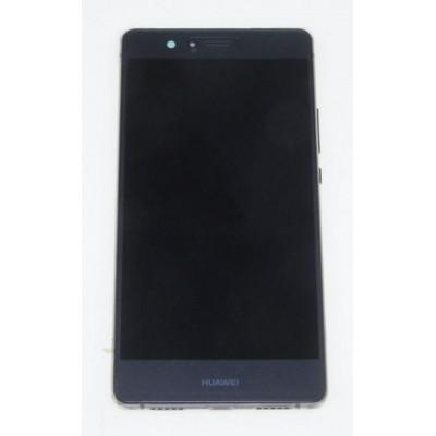 LCD + Touch ORIGINALE con Frame per Huawei P9 Lite Nero