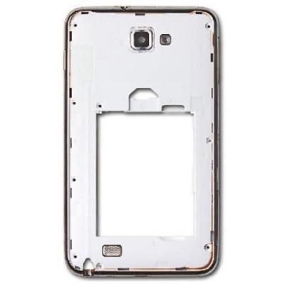 Frame Intermedio per Samsung Note n7000 Bianco