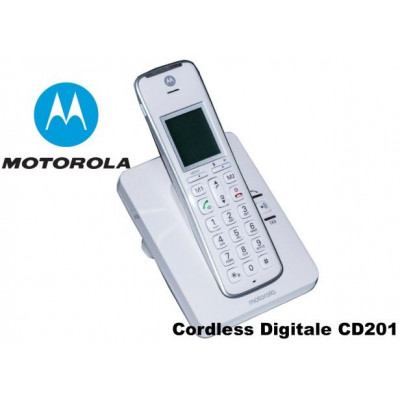 Telefono Cordless Digitale Motorola CD201