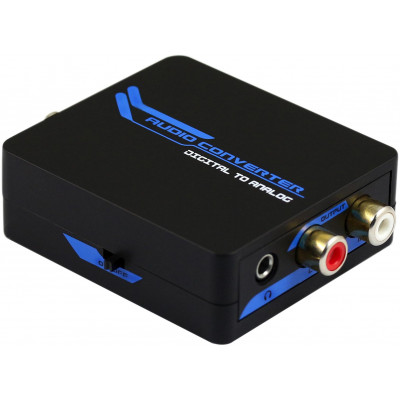 Convertitore Audio da Digitale a Analogico, L/R 3.5mm Jack