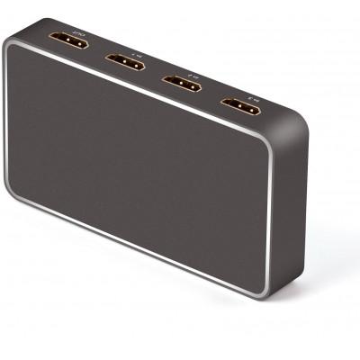 Switch 3x1 HDMI 2.0 18G  4k@60hz, con usb recharge