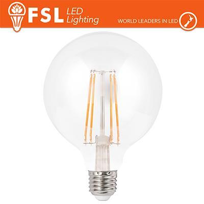Lampada Filamento Globo Ø9,5cm - 6W 2700K E27 600LM