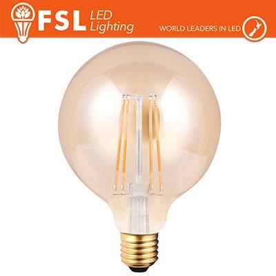 Lampada Globo Filamento Ambra Ø9,5cm - 6W 2200K E27 650LM