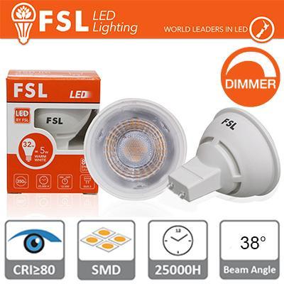 GU10 Lampadina LED - 6,5W 3000K 500LM 38° CRI80 Dimmerabile