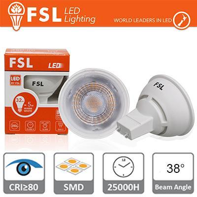 GU10 Lampadina LED - 6W 6500K 520LM 38° CRI80