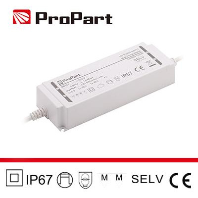 Alimentatore IP67 24V 200W 8.33A Size:191*68*37mm