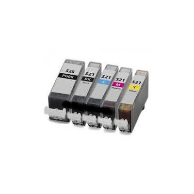 Magente 10ml con chip per Canon Ip3600/IP4600/MP540/MP620