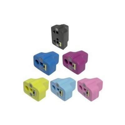 18ML Yellow CON CHIP,3108 AIO, 3110 AIO, HP C8773E 363Y
