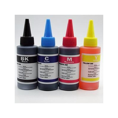 YELLOW  INK 100ml FOR HP LEXMARK CANON BROTHER