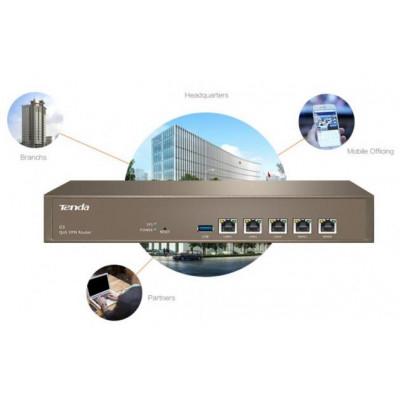 Router QoS VPN 4 porte Multi-WAN AP Manager Tenda G3