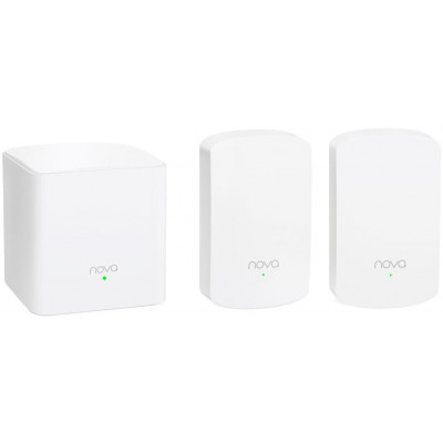 Nova MW5 Sistema WiFi ac Mesh plug a muro - 3 pezzi