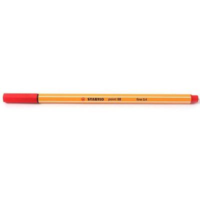 STABILO point 88 - fineliner 0,4 mm ROSSO 10pz